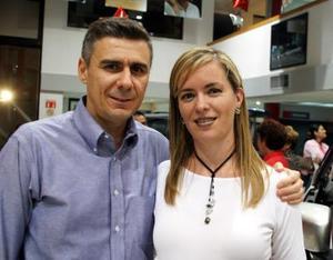 Fernando y Sandra Fuerte.