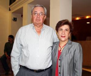 Hugo García Sánchez y Eva Maisterrana.