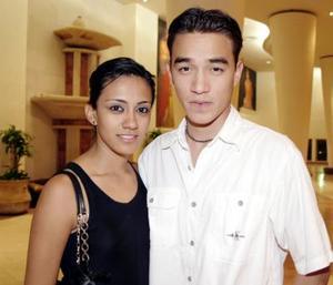 Mónica Ibarra y Jorge Cavazón Estrada.