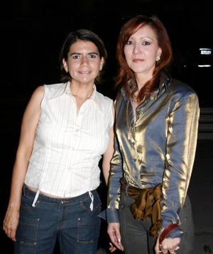 Alejandra Torres y Patricia de Lara.