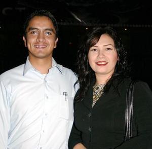 Iván García y Lulú Delgadillo