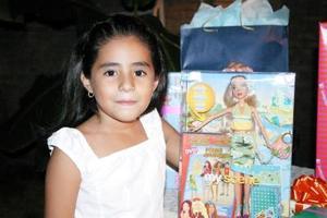 Isabel Hijar Cabello, el día que cumplió siete años de vida.