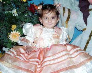 Roxana Stefanía Rodríguez Cueto, captada el día que festejó su primer año de vida.