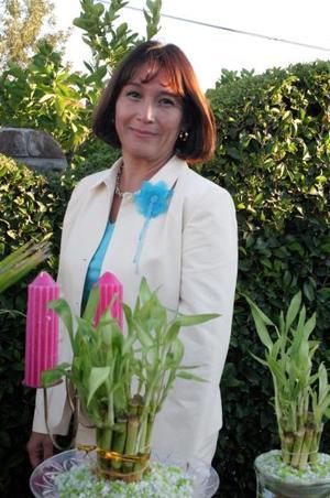 Sonia Ortiz García, captada en su despedida de soltera.