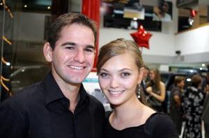 Joaquín Hamdam y Mercedes Romo