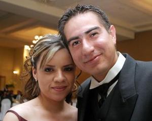 Marcela Sepúlveda y Genaro Márquez.