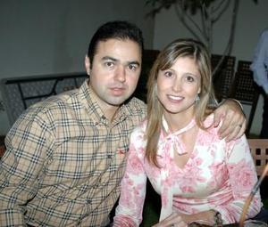 José Antonio Mansur y Jéssica de Mansur