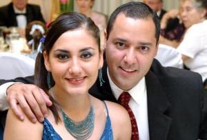 Estela de Mora y Daniel Mora