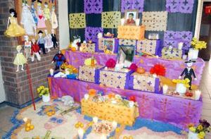 En el Jardínde Niños del Colegio Mijares rindieron homenaje al pequeño César Javier Silva Cedillo, que falleció recientemente.