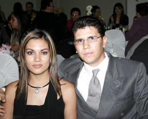 Pilar de González y Guillermo González.