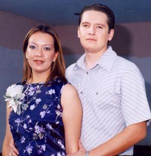 <u><i> 29 de octubre de 2004</u></i><p>  Alfonso Carrillo Sánchez y Gabriela Iveth Romero Rueda.