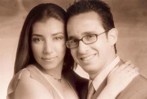 Manuel Blanco Rodríguez y Alejandra Aguilar.