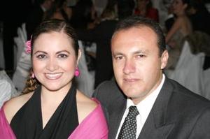 Elisa Ortiz y Enrique Ortega.