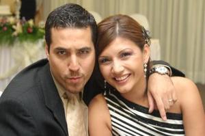 Ángelo Medine y Karla Medine.