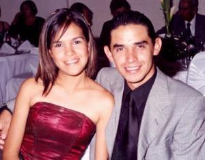 Hilda Alejandra Pérez de laFuente y Ricardo López Sánchez.