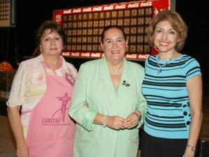 Lucía Gorostioga, Pilar Vázquez y Martha Ávalos.