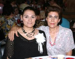 Margarita de Anda y Sandra Rivas.