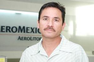 Francisco González Pinedo voló con destino a Mérida, Yucatán.