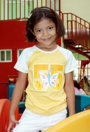 Sharon Jezabel Ochoa festejó su séptimo cumpleaños con una merienda
