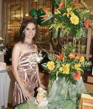 Brenda Salum Castillo recibió sinceras felicitaciones en su despedida de soltera, con motivo de su cercano matrimonio con Jorge Chávez Suárez