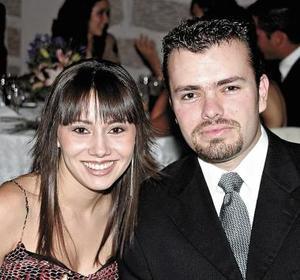 Rhoda Real y Alejandro Gidi.