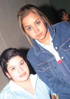 Alicia Seceñas y Luisa Medrano.