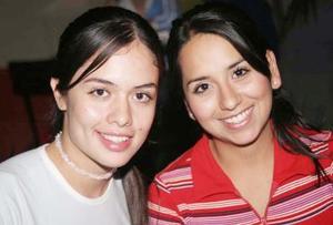 Carmen Guerrero y Cecilia Cortez.