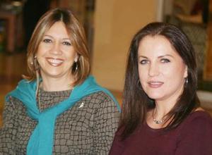 <u><i> 03 de noviembre de 2004</u></i><p>  Rosalba Ruiz González y Rosario de la Garza.