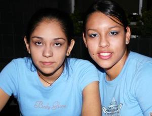Sofía Almaraz y Sara Romo.