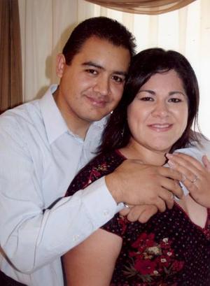 Alejandro Gutiérrez Serrano y Alejandra García Rubio.