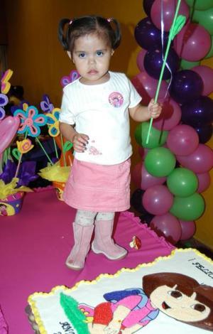 <u><i> 05 de noviembre de 2004</u></i><p>   Andrea Torres Chávez festejó su segundo año de vida, con una merienda que le ofrecieron sus papás.