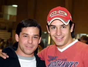 Emilio Aparicio y Alberto Cuerda.