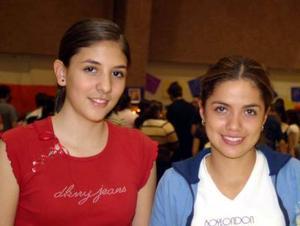 Imelda Cortés y Brenda Baños.