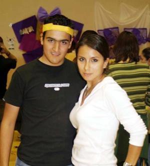 Julio Hernández y Fabiola Lima.