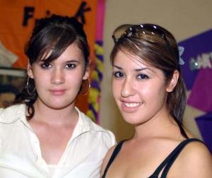 Karen Palomino y Emma Ceballos Barraza.