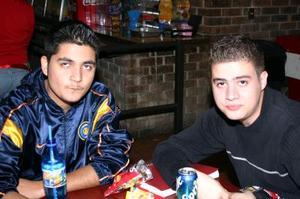 Gabriel Esquivel y Carlos Valdés.