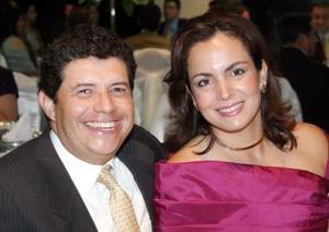 Aldo Díaz y Tere Muñoz de Díaz.
