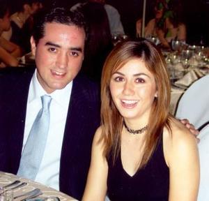 Alejandro Gorostiaga y Pinky Vázquez.