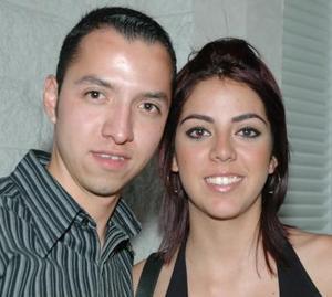 Gustavo Borroel y Mariana Galindo.