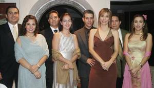 Culberto y Sandra Frías, Francisco y Annel Gallegos, Vicente y Olivia de Mireles, Óscar y Rosario de García.