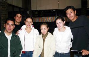 Pedriky, Janeth, Rocky, Kenia, Ana Lucía y Zamu.