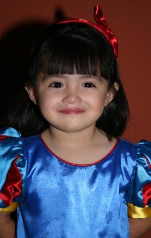 Anna Lucía Sujo Hernández, captada el día de su piñata.