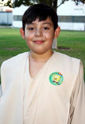 Eduardo Ramírez Gutiérrez, el día que cumplió años de vida.
