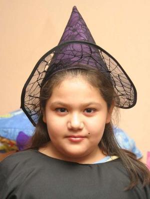 María Fernanada Padilla celebró su décimo cumpleaños, con una divertida fiesta de disfraces.