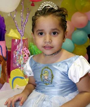 María Fernanda González Quintero celebró su cumpleaños, con una divertida fiesta infantil.