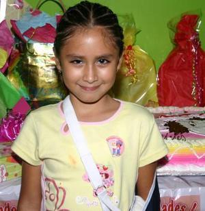 Rebeca Yadira Sánchez festejó  su séptimo cumpleaños, con una merienda hace unos días.