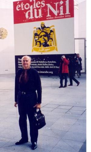 Romualdo Segovia disfrutó recientemente de unas vacaciones en París, Francia, donde visitó el Istituto del Mundo Árabe.