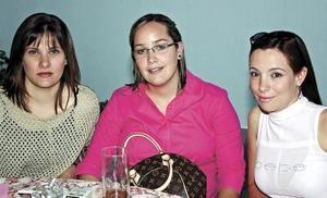<u><i> 08 de noviembre de 2004</u></i><p> Ileana Dávila de Ramírez, Lorena de Martínez y Rita de Saavedra