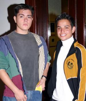 Ángel Padilla y Víctor Hernández