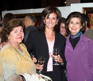 Guadalupe de la Mora, María Elena de Villarreal y Rosario Lamberta de González